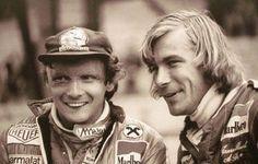"""Lauda compara """"Rosberg x Hamilton"""" a sua rivalidade com Hunt em 1976"""