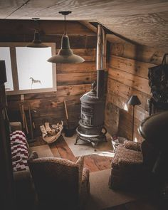 """Cabins And Cottages: wild-cabins: """"Chris Daniele """" . Tiny Cabins, Tiny House Cabin, Cabins And Cottages, Cabin Homes, Log Homes, Rustic Cabins, Small Log Cabin, Rustic Cabin Decor, Cabin Design"""