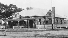 Jamestown Post Office in Jamestown,South Australia in 1900. •State Library of South Australia•