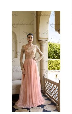 Peerless Peach Wedding Designer Salwar Kameez