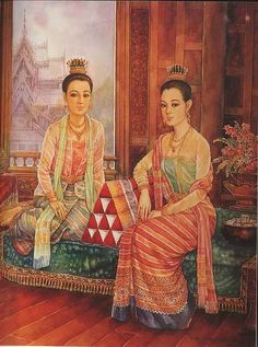 Artist Painting, Painting & Drawing, Laos Culture, Thailand Art, Thai Art, Buddha Art, Great Paintings, Cute Wallpaper Backgrounds, Traditional Art
