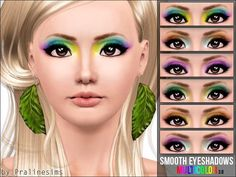 Pralinesims' Smooth Multicolor Eyeshadows 3.0