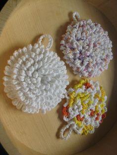 Ultra Nubby Scrubby Crochet Tawashi Dishcloths – Awkward Soul Designs