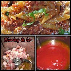 Le ricette di Valentina & Bimby: PASTA RISOTTATA ALLA MATRICIANA