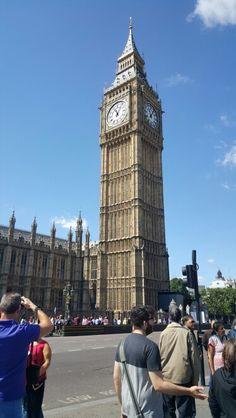 Elizabeth Tower (Big Ben) in London, Greater London