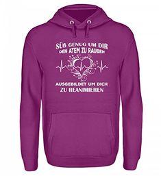 Hochwertiger Unisex Kapuzenpullover Hoodie - Krankenpfleg...  https://www.amazon