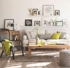 """El Mueble (@el_mueble) no Instagram: """"¿Quieres darle vida y mucho rollo a la pared de detrás del sofá? Liliana Millán, nuestra arquitecta…"""""""