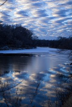 Blue Reflection - photo by Kay Marti, via Flickr