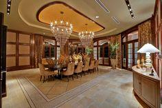 Lighting ideas for your luxury dining room  #inspirationsdecor #lightingstores interior design #lighitngdesign Home Ideas #decoration #luxurylighting Visit www.lightingstores.eu