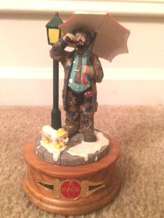Emmett Kelly Coca-Cola Figurine by calcouture2012