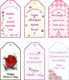 Free printable fathers day gift tags my free printable cards free printable gift tags for mothers day my free printable cards negle Gallery