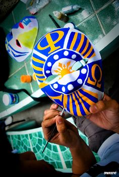 this is so awesome! Fraternity Gifts, Alpha Phi Omega, Brotherly Love, Art Studios, Crafts, Mask Ideas, Philippines, Fun Stuff, University