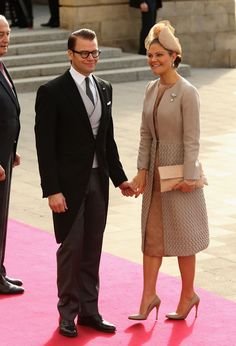Princess Victoria - The Wedding Of Prince Guillaume Of Luxembourg & Stephanie de Lannoy - Official Ceremony