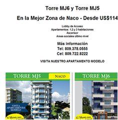En la Mejor Zona de Naco - Desde US$114,000. 809.378.0555  - Publicidad