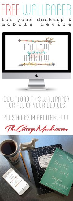 Free Wallpaper for Your Desktops and Mobile Device - The Cottage Market