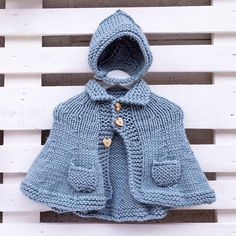 Sweet coat perfect for those cold days!!❄️❄️❄ ️Designed and knitted by I Love Tricoté! Perfecto para un día como hoy! ❄️❄️❄️  #babyknits #ilovetricote #knittingkits