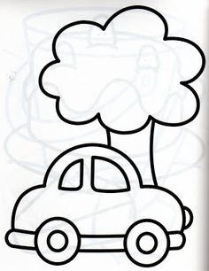 Easy Drawings For Kids, Cute Drawings, Art For Kids, Colouring Pages, Coloring Books, Drawing Lessons For Kids, Pokemon Coloring, Simple Doodles, Art N Craft