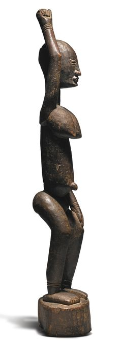 Dogon Tintam Female Figure, Mali,ca. late 17th or early 18th century | Lot | Sotheby's