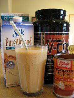 Fitness For Fun!!!: Pumpkin Pie Protein Shake