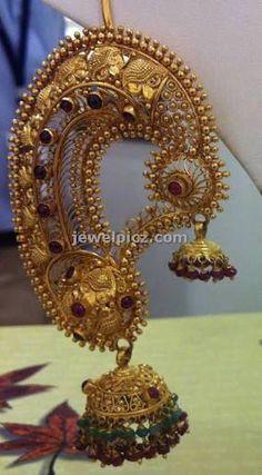 22K Gold Long Jhumka
