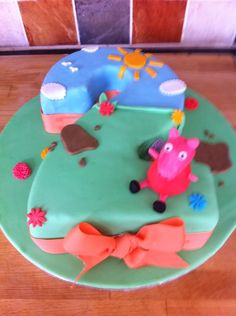 Number 2 birthday cake recipe