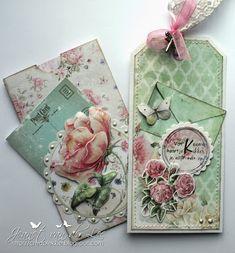 Janneke Brinkman line door Jeanet van der Lee Tag Art, Card Tags, Gift Tags, Shabby Chic Cards, Envelope Art, Handmade Tags, Vintage Scrapbook, Paper Tags, Vintage Tags