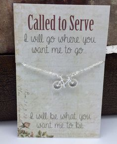 Missionary Necklace  Sister Missionary Jewelry  by doodlebead, $9.99