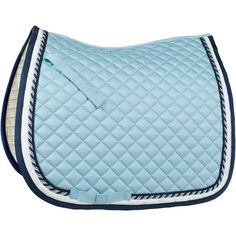 Horze Double-Corded Dressage Saddle Pad ❤ liked on Polyvore featuring horse, saddle pads and tack