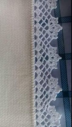 Before Christmas, I make lots Crochet Lace Edging, Crochet Borders, Filet Crochet, Crochet Trim, Crochet Shawl, Crochet Doilies, Crochet Flowers, Crochet Stitches, Doilies