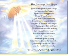 religious memorial poems   ... poem to create a special keepsake in loving memory memorial poems