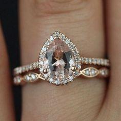 Pin for Later: 36 atemberaubende Verlobungsringe aus Rotgold