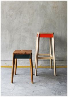 takehomedesign pack stool & pack bar stool
