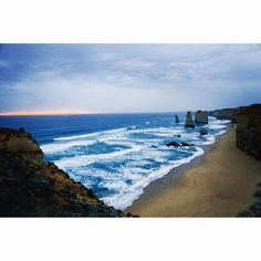 Great ocean drive- 12 apostles ( well I guess 8 now but who's counting  it's beautiful regardless )  #australia #travel #12apostles #greatoceanroad #explore by the.infinite.wanderers http://ift.tt/1ijk11S