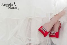Pamper your feet on your wedding day with Angela Nuran shoes! Available at JJ Kelly Bridal Salon. Designed by a professional dancer for comfort and style! Angela Nuran shoes can be dyed. Dyed Shoes, How To Dye Shoes, On Your Wedding Day, Wedding Stuff, Wedding Ideas, Special Occasion Shoes, Bridal Heels, Most Comfortable Shoes, Professional Dancers