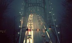 #bridge at night#auto#great#beauty