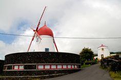 SIARAM :: Moinhos de Vento, Windmill, Graciosa Island, Azores, Portugal
