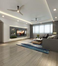 内装 Ceiling Design Living Room, False Ceiling Design, Home Room Design, Interior Design Living Room, Living Room Designs, Living Room Decor, Modern Kids Bedroom, Simple Bedroom Decor, House Front Design