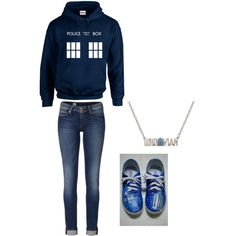 """doctor who outfit"" by missbri2000 on Polyvore"