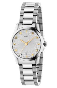 4f25d01bd5f Gucci G-Timeless Bracelet Watch