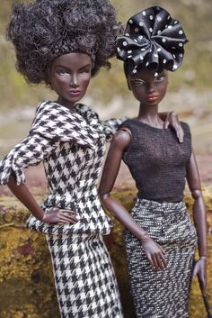 Sisters, Cousins, Friends? Haus of Mfalcao  Styling: Mfalcao  Photo: Meire Todao