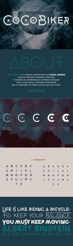 CocoBiker - Desktop Font & WebFont - YouWorkForThem