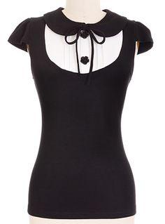 Gothic Lolita Tux Top at PLASTICLAND