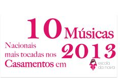 15 Músicas Brasileiras para cerimônia de Casamento