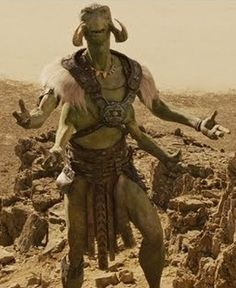 Tars Tarkas (Thark, John Carter) I actually really liked this movie and was sad few others seemed to. It really followed the books well there was nothing I was disappointed in.