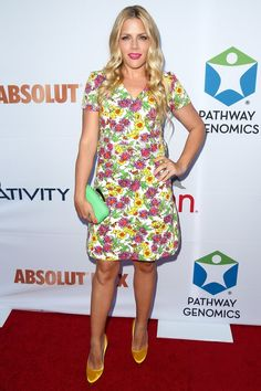 Pin for Later: Nobody Twinkled Like These Stars Last Night Busy Philipps Busy Philipps at Pathway to the Cures For Breast Cancer.