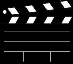 Movie Clapper Clip Art