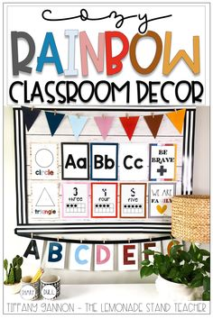 Check out this AMAZING classroom decor that's sure to cozy up any room! This resource includes a bunch of cozy options, organization ideas, and resources for your kindergarten, elementary school, or homeschool classrooms. Click the pin to see what's included!