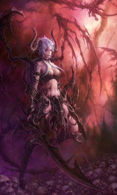 Dark Elf by Hanchae Moon