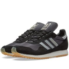 buy online 7daed a1afd Buy the Adidas New York in Black  Gum from leading mens fashion retailer  END. - only Fast shipping on all latest Adidas products.