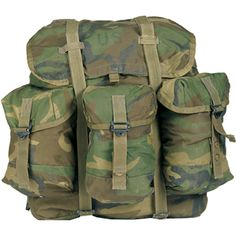 Woodland Medium Alice Pack